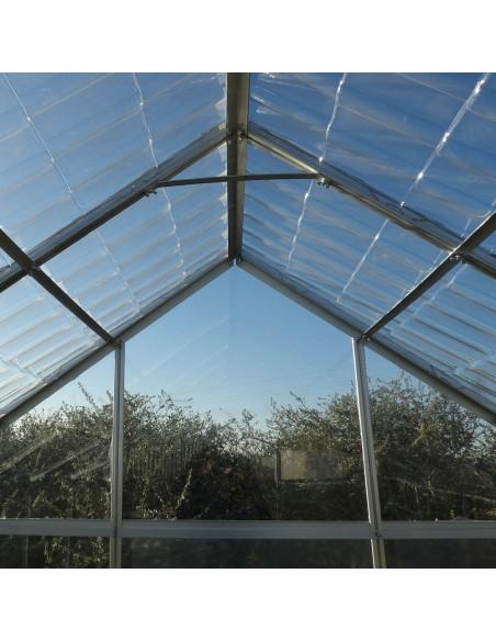 Intérieur - Serre de jardin en aluminium