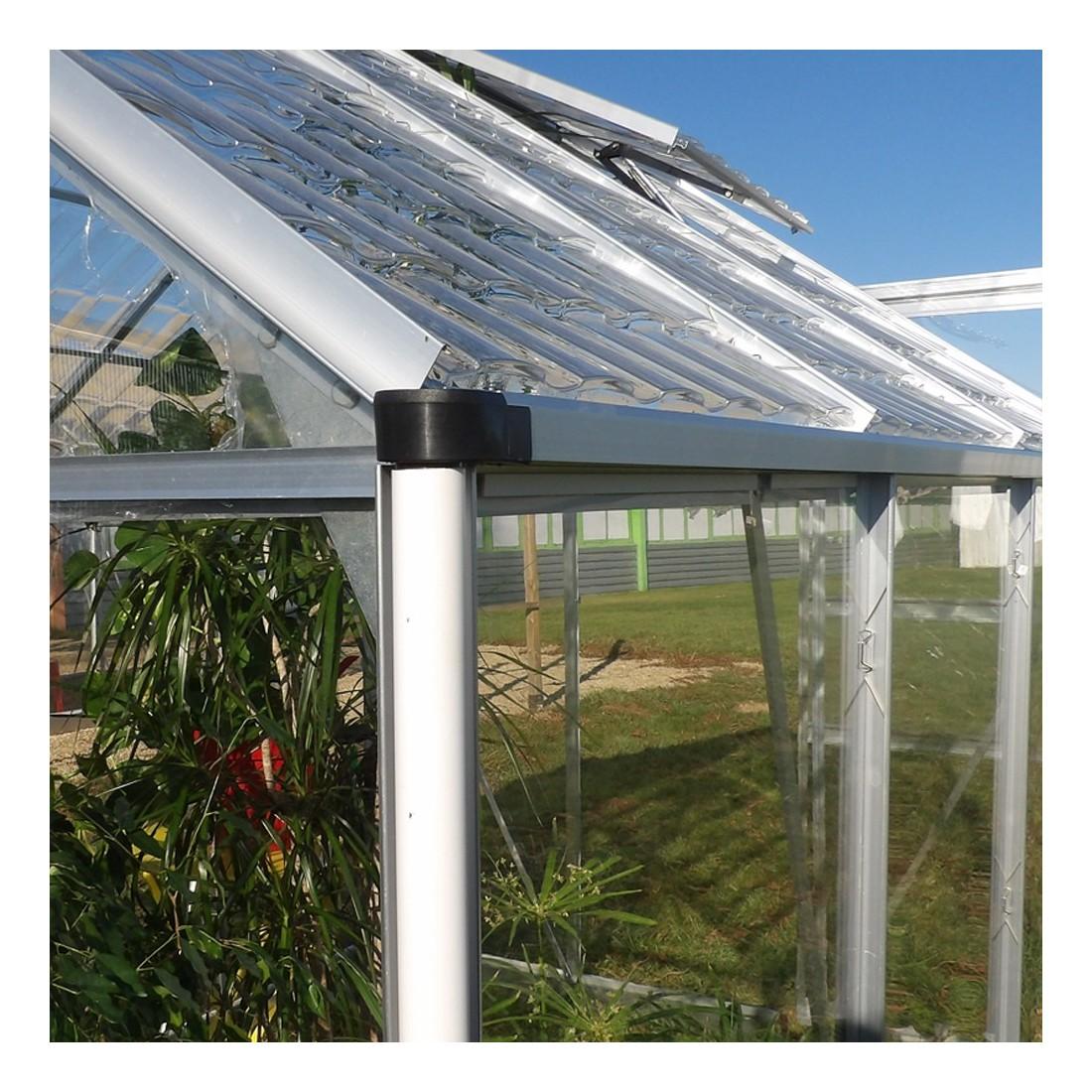 Gouti re serre de jardin en aluminium et polycarbonate - Serre jardin polycarbonate caen ...
