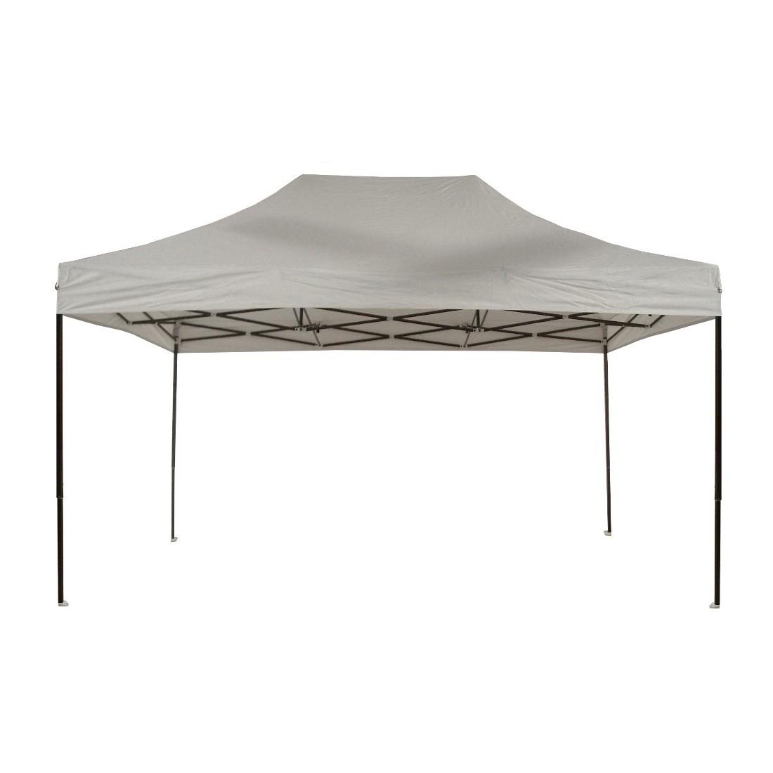 tonnelle pliante 3x4 5m acier semi pro ouverte sans c t s. Black Bedroom Furniture Sets. Home Design Ideas