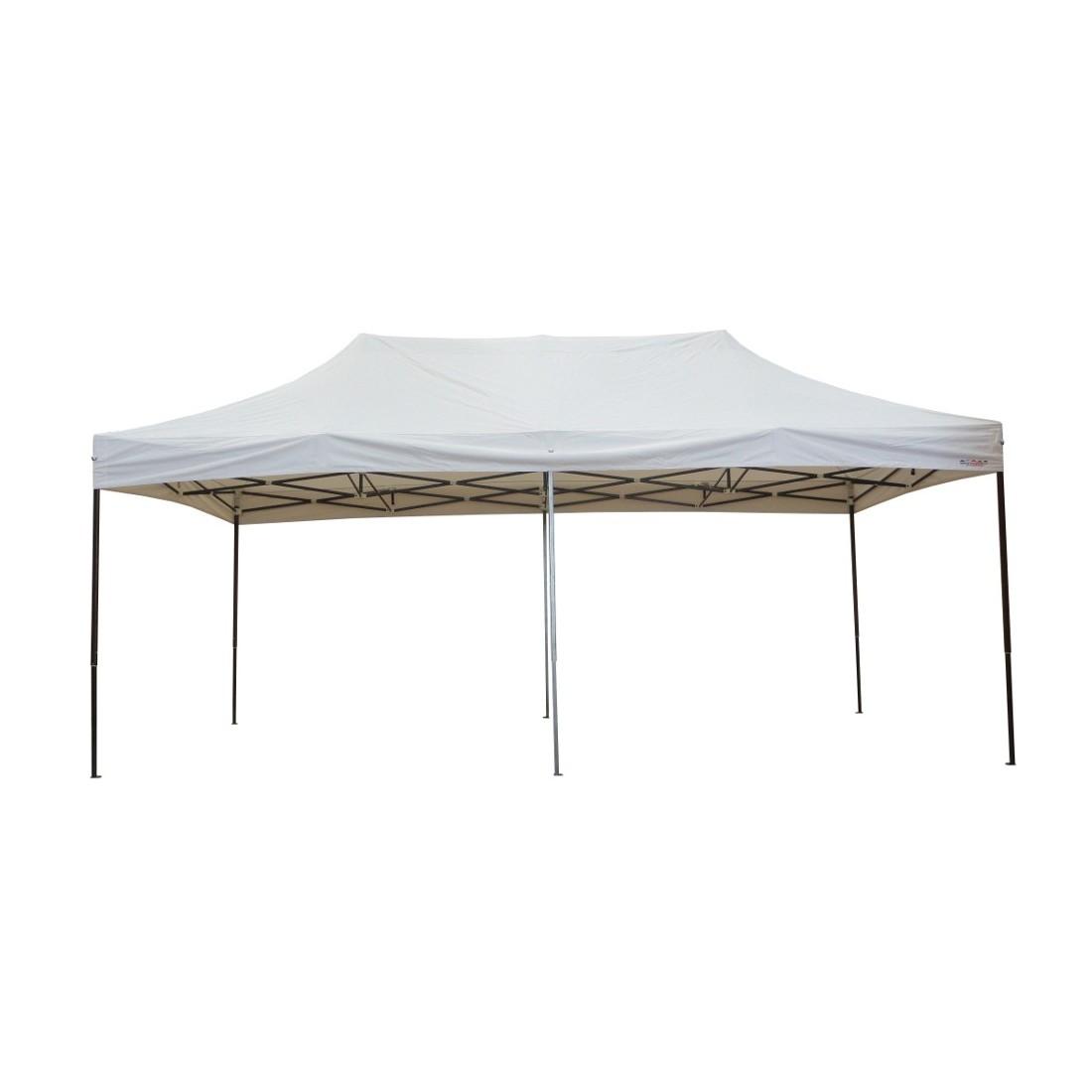 tonnelle pliante 3x6m acier semi pro ouverte sans c t s. Black Bedroom Furniture Sets. Home Design Ideas