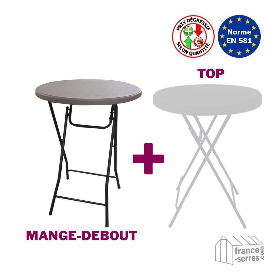 table mange debout avec rangement conceptions de maison. Black Bedroom Furniture Sets. Home Design Ideas