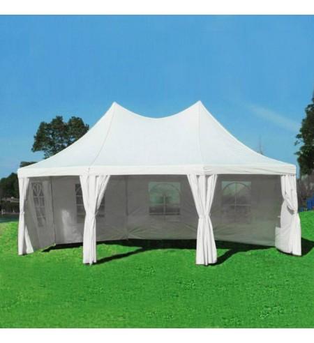 Tente de reception octogonale de 6x4m