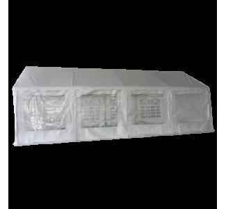Tente de réception en PE de 5x8m avec Tubes de 38mm