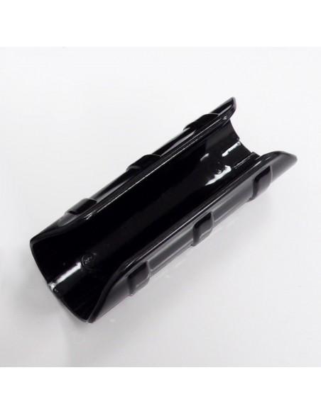 Lot de 10 clips noirs de 10cm pour serre tunnel de jardin de 32mm de diamètre
