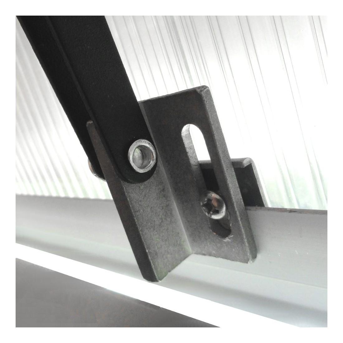Ouverture automatique ou v rin de fen tre pour serre de - Montage fenetre pvc ...