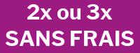 Paiement en deux ou trois fois sans frais sur le site france-serres.com