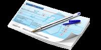 Règlement par chèque bancaire ou postal français sur le site france-serres.com