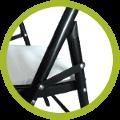 Montage rapide pour mettre en place votre chaise pliante