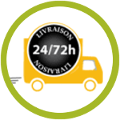 Livraison sous 24 à 72h par transporteur DB-Schenker