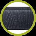 Plateau en HDPE noir de haute qualité et grande résistance