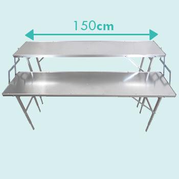 Dimensions largeur table de culture pour serre de jardin