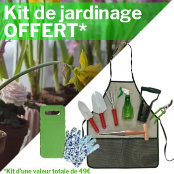 Kit de jardinage offert