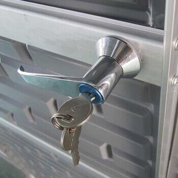 fermeture à clef
