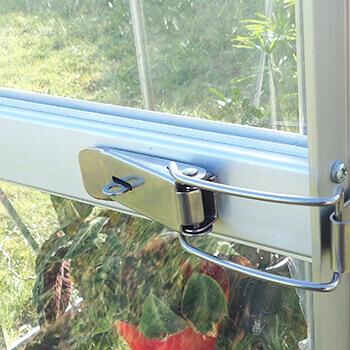 Porte avec fermeture cadenas