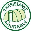 Bâche 5 couches TRANSLUCIDE de haute qualité 200 microns (200g/m²)