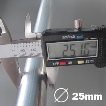 Structure renforcee en acier galvanise diamètre 25mm