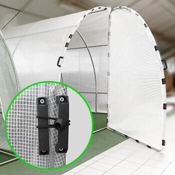 2 grandes portes sur chanieres à double poignée ergonomiques