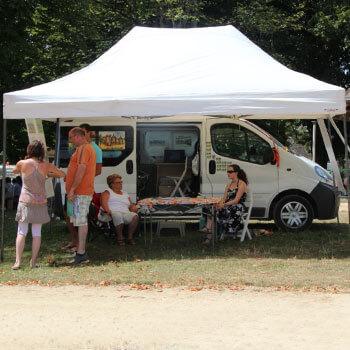 abri pliant automatique camping