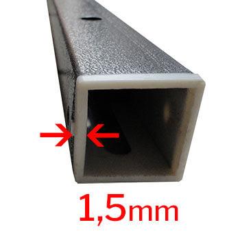 structure acier avec peinture epoxy anti-corrosion