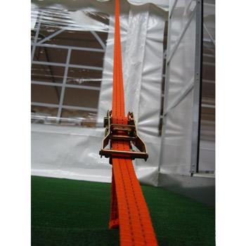 Sécuriser votre tente de réception sans effort grâce au serrage par cliquet