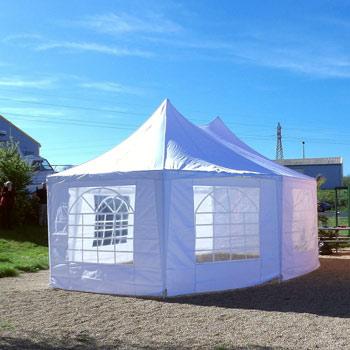 un abri de jardin d'une surface de 29m² utile de lors de vos evenement en exterieur