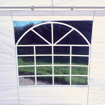 vitrage transparent a motif cathedrale pour plus de standing